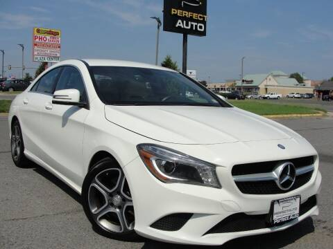2014 Mercedes-Benz CLA for sale at Perfect Auto in Manassas VA