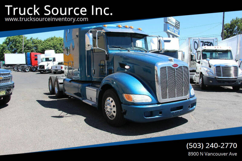 2014 Peterbilt 386 for sale at Truck Source Inc. in Portland OR
