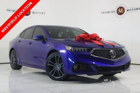 2019 Acura TLX for sale at INDY'S UNLIMITED MOTORS - UNLIMITED MOTORS in Westfield IN