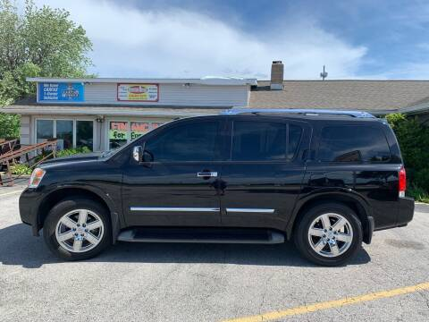 2014 Nissan Armada for sale at Revolution Motors LLC in Wentzville MO