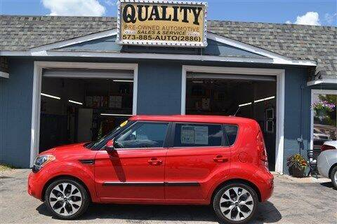 2013 Kia Soul for sale at Quality Pre-Owned Automotive in Cuba MO