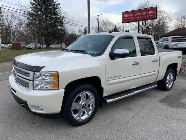 2013 Chevrolet Silverado 1500 for sale at SPINNEWEBER AUTO SALES INC in Butler PA