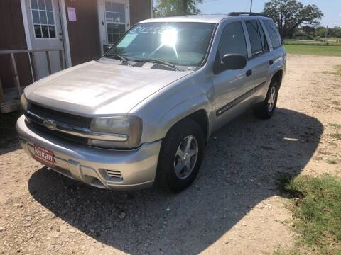 2004 Chevrolet TrailBlazer for sale at Knight Motor Company in Bryan TX