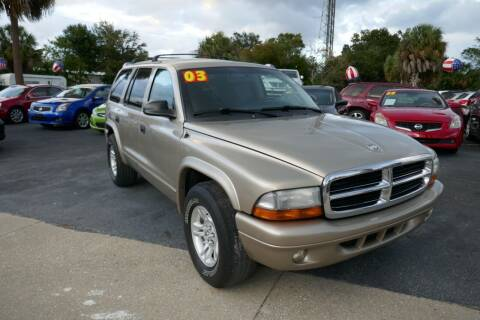 2003 Dodge Durango for sale at J Linn Motors in Clearwater FL