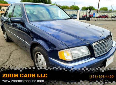 2000 Mercedes-Benz C-Class for sale at ZOOM CARS LLC in Sylmar CA