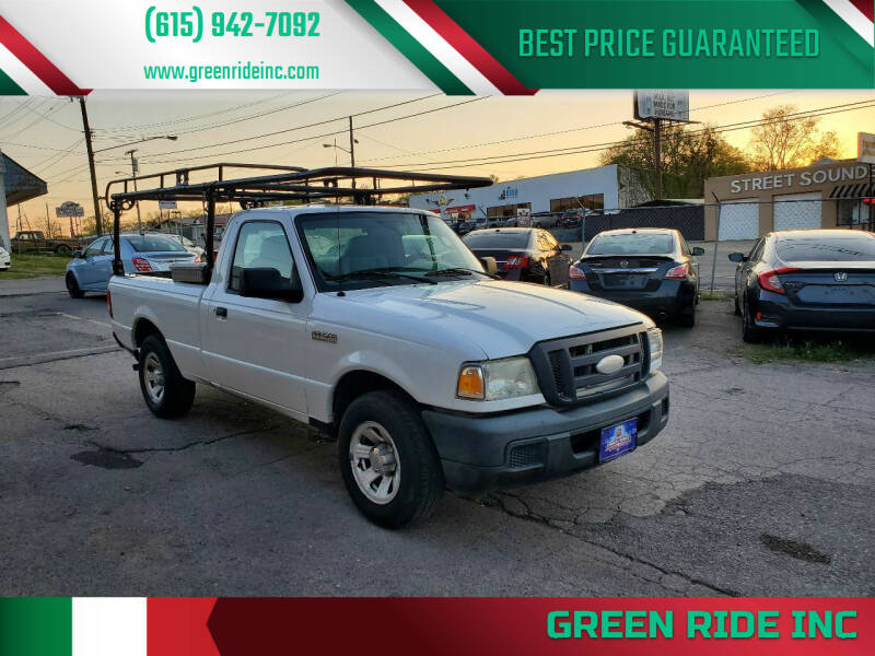 2007 Ford Ranger for sale at Green Ride Inc in Nashville TN
