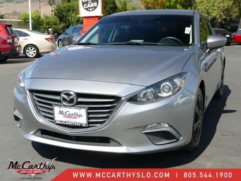 2015 Mazda MAZDA3 for sale at McCarthy Wholesale in San Luis Obispo CA