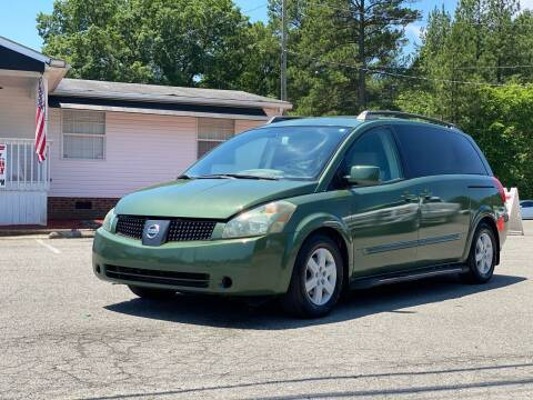 2004 Nissan Quest for sale at CVC AUTO SALES in Durham NC