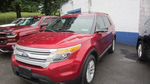 2013 Ford Explorer for sale at Auto Outlet of Morgantown in Morgantown WV