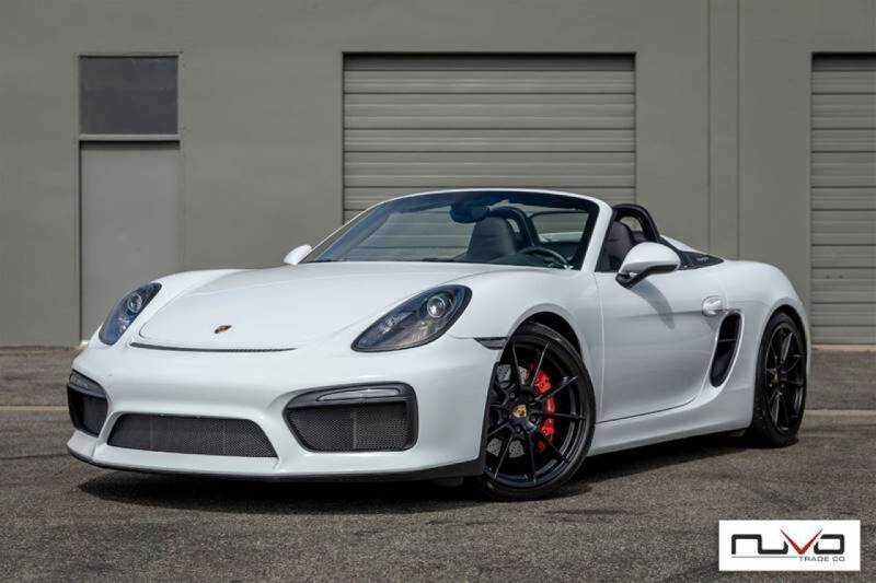 2016 Porsche Boxster for sale at Nuvo Trade in Newport Beach CA