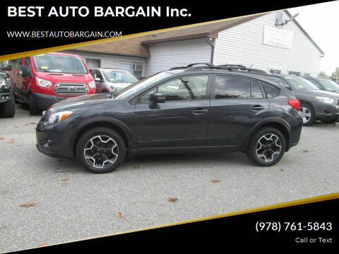 2015 Subaru XV Crosstrek for sale at BEST AUTO BARGAIN inc. in Lowell MA