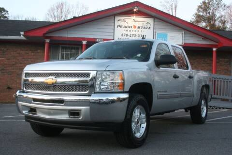 2013 Chevrolet Silverado 1500 for sale at Peach State Motors Inc in Acworth GA