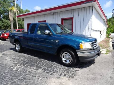 2001 Ford F-150 for sale at DONNY MILLS AUTO SALES in Largo FL