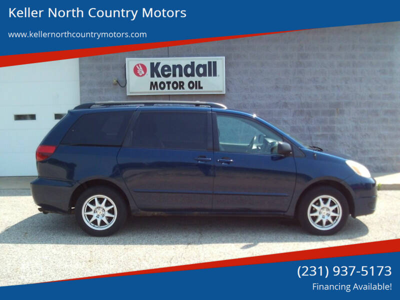 2005 Toyota Sienna for sale at Keller North Country Motors in Howard City MI