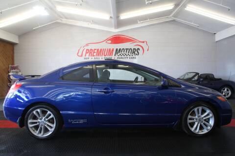 2008 Honda Civic for sale at Premium Motors in Villa Park IL