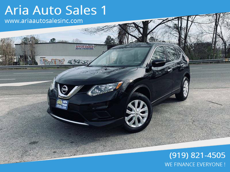 2014 Nissan Rogue for sale at ARIA AUTO SALES in Raleigh NC