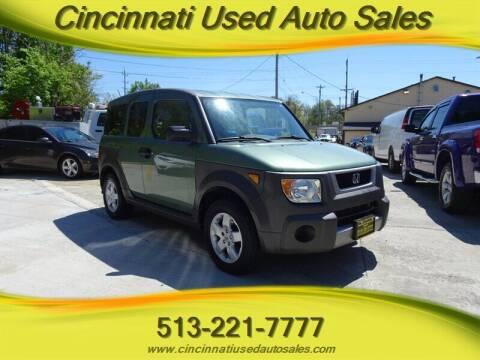 2005 Honda Element for sale at Cincinnati Used Auto Sales in Cincinnati OH