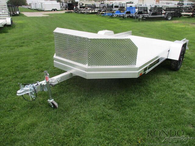 2021 Aluma Aluminum Single Axle Utility U for sale at Rondo Truck & Trailer in Sycamore IL