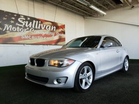 2012 BMW 1 Series for sale at SULLIVAN MOTOR COMPANY INC. in Mesa AZ