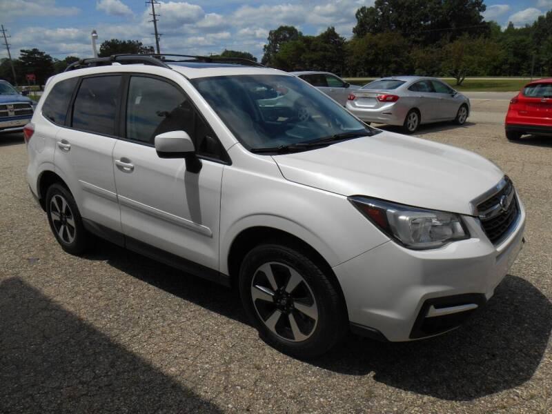 2017 Subaru Forester for sale at Unity Motors LLC in Jenison MI