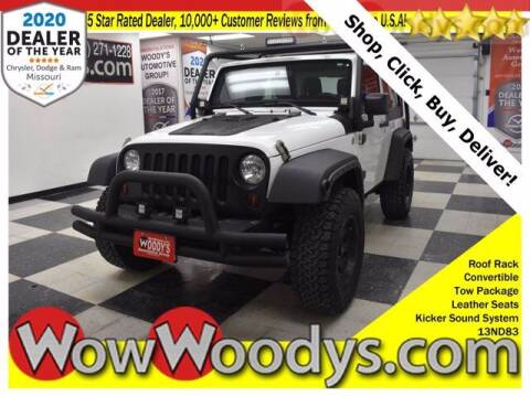 2013 Jeep Wrangler for sale at WOODY'S AUTOMOTIVE GROUP in Chillicothe MO