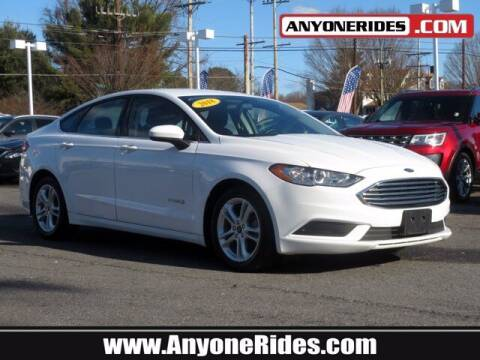2018 Ford Fusion Hybrid for sale at ANYONERIDES.COM in Kingsville MD