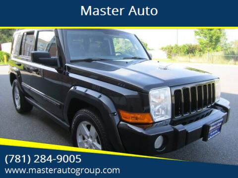 2006 Jeep Commander for sale at Master Auto in Revere MA