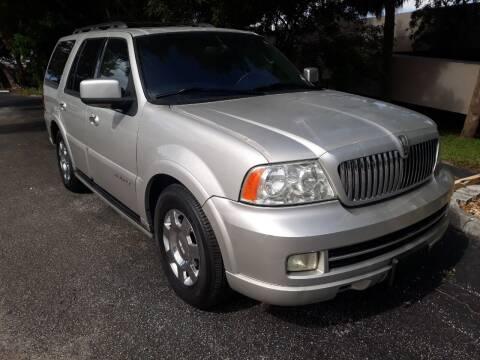 2006 Lincoln Navigator for sale at LAND & SEA BROKERS INC in Deerfield FL
