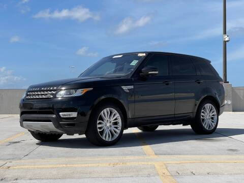 2017 Land Rover Range Rover Sport for sale at Auto Direct of South Broward in Miramar FL