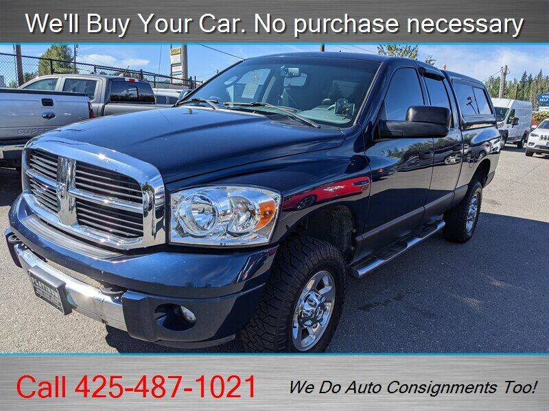 2007 Dodge Ram Pickup 2500 for sale at Platinum Autos in Woodinville WA