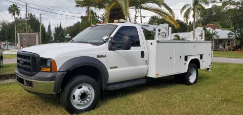 "2006 Ford F-450 Super Duty for sale at WHEELS ""R"" US 2017 LLC in Hudson FL"