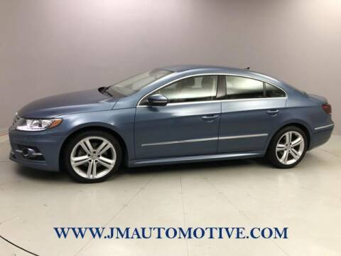 2016 Volkswagen CC for sale at J & M Automotive in Naugatuck CT