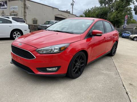 2016 Ford Focus for sale at T & G / Auto4wholesale in Parma OH