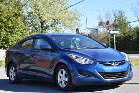 2015 Hyundai Elantra for sale at GREENPORT AUTO in Hudson NY