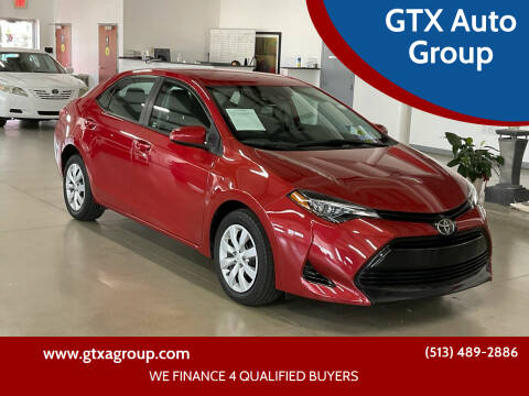 2018 Toyota Corolla for sale at GTX Auto Group in West Chester OH