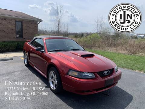 2003 Ford Mustang for sale at IJN Automotive Group LLC in Reynoldsburg OH