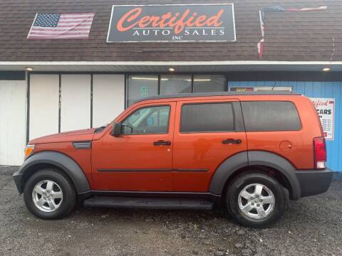 2007 Dodge Nitro for sale at Certified Auto Sales, Inc in Lorain OH