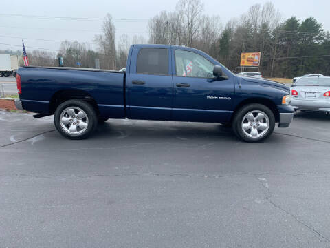 2003 Dodge Ram Pickup 1500 for sale at Doug White's Auto Wholesale Mart in Newton NC