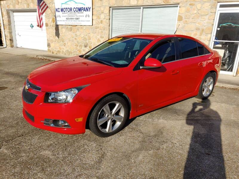 2014 Chevrolet Cruze for sale at KC Motor Company in Chattanooga TN