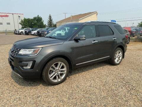 2016 Ford Explorer for sale at FAST LANE AUTOS in Spearfish SD