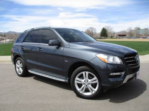 2012 Mercedes-Benz M-Class for sale at Nations Auto in Lakewood CO