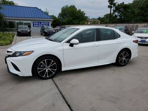 2019 Toyota Camry for sale at Kell Auto Sales, Inc in Wichita Falls TX