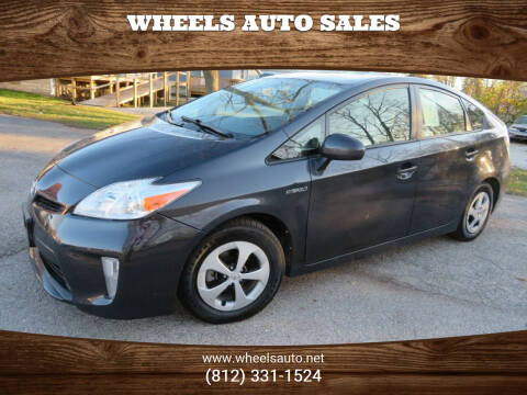2014 Toyota Prius for sale at Wheels Auto Sales in Bloomington IN