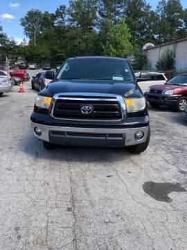 2010 Toyota Tundra for sale at LAKE CITY AUTO SALES - Jonesboro in Morrow GA