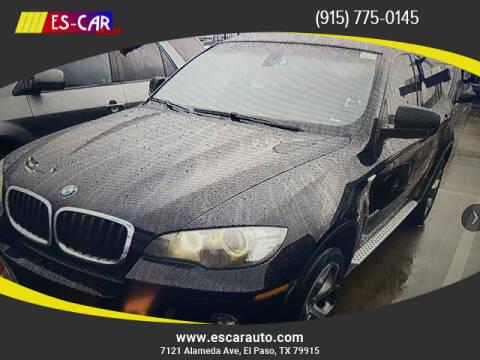 2014 BMW X6 for sale at Escar Auto in El Paso TX