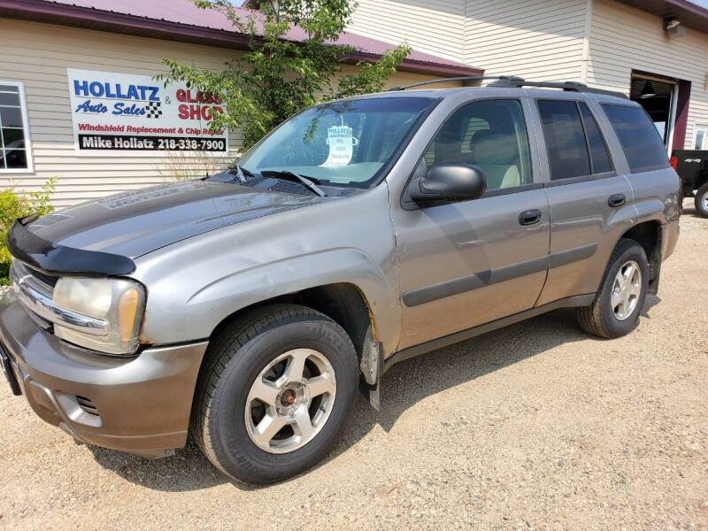 2005 Chevrolet TrailBlazer for sale at Hollatz Auto Sales in Parkers Prairie MN