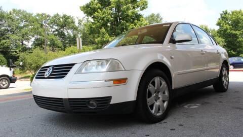 2002 Volkswagen Passat for sale at NORCROSS MOTORSPORTS in Norcross GA