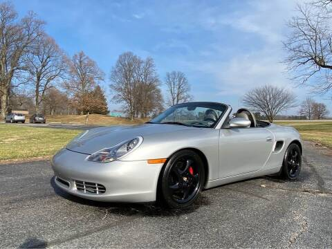 2002 Porsche Boxster for sale at Moundbuilders Motor Group in Heath OH