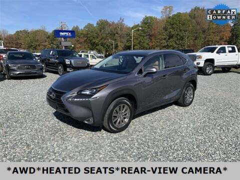 2016 Lexus NX 200t for sale at Impex Auto Sales in Greensboro NC