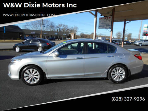 2013 Honda Accord for sale at W&W Dixie Motors Inc in Hickory NC